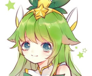 lulu, league of legends, and star guardian image
