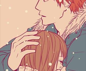anime, orange, and love image