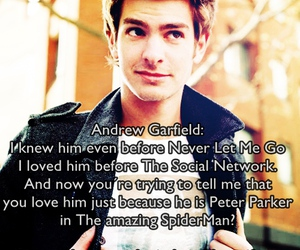 peter parker, love him, and the social network image