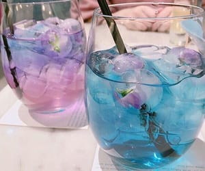 blue, drink, and purple image