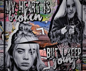 aesthetic, billie, and edit image