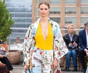 fashion, oscar de la renta, and birgit kos image