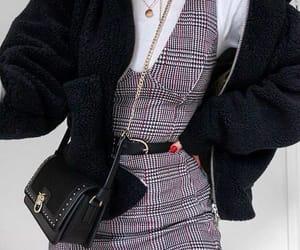 dress, sweater, and fashion image