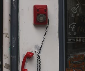answer, ring, and telephone image
