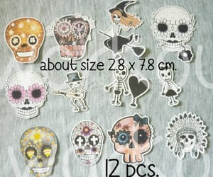 die cuts, skull cutouts, and skull paper image