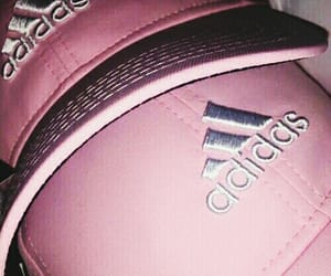 adidas, aesthetic, and cute pink image