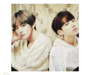 aesthetic, icons, and vkook image