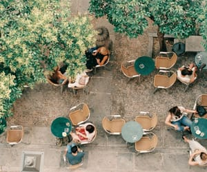coffee, coffee shop, and nature image