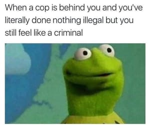 cop, me, and meme image