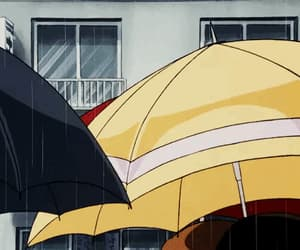 anime, rain, and season image