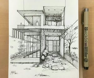 architect, architecture, and art image