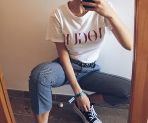 mirror, outfit, and tumblr image