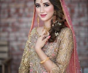 muslim bride, shaadi, and indian bride image