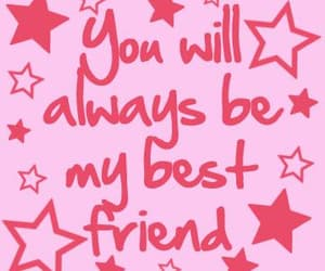 best friends, pink, and quotes image