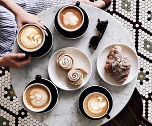 cafe, chic, and coffee image