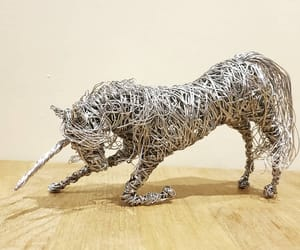 animal, miniature, and wire image