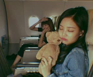 jennie, blackpink, and lisa image
