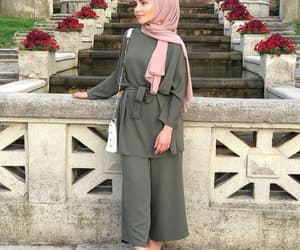 beautiful, fashion, and hijab image