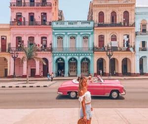 cuba, havana, and pink image