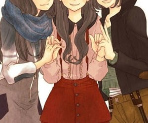cute, friends, and anime image