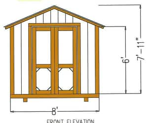 diy projects, shed construction plans, and shed plans image