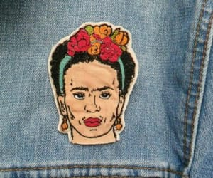 embroidery, pin, and style image