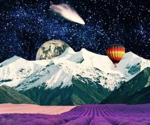 acid, hippie, and lavender image