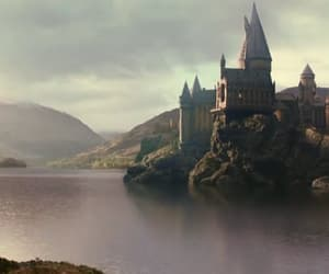 castle, film, and harry potter image