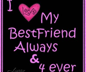 best friend, quote, and love image