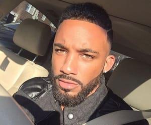 bae, beards, and brown eyes image