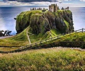 castle, landscape, and nature image