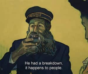 art, movie, and loving vincent image
