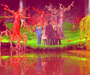 charlie and the chocolate factory, johnny depp, and asshole! image