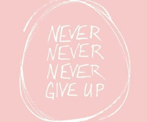 wallpaper, background, and never give up image