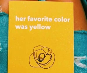 book, poetry, and yellow image