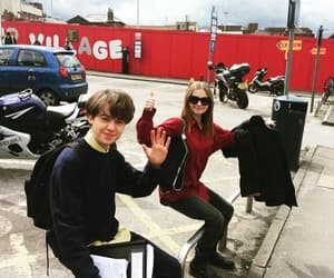 alex lawther, james, and jessica barden image