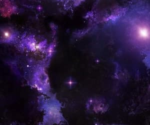 purple and space image