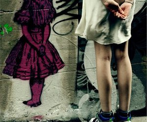girl, alice, and nike image