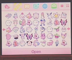 pastel, pink, and pokemon image