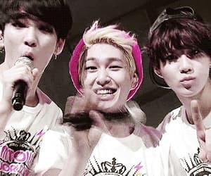gif, Minho, and Onew image