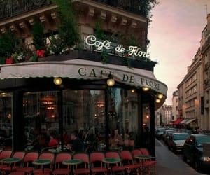 cafe, city, and paris image