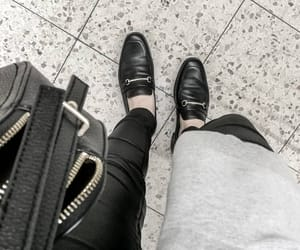 fashion, loafers, and outfit image