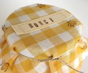 honey and yellow image