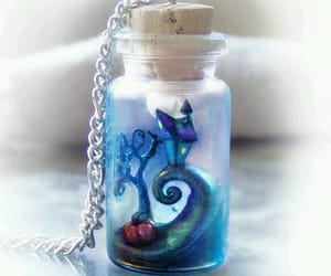 necklace, bottle, and nightmare before christmas image