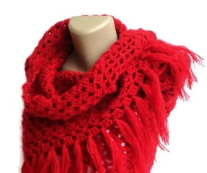 etsy, scarf, and crochet scarf image