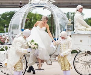 cinderella and wedding image