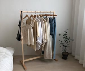 beige, clothes, and interior image