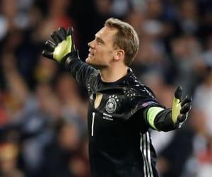 soccer, goalkeeper, and deutscher image