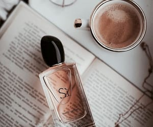 perfume, coffee, and luxury image