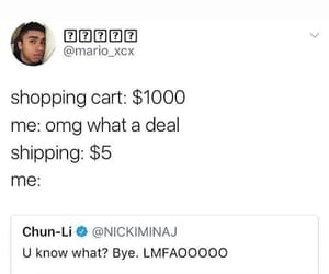 funny, online, and shopping image